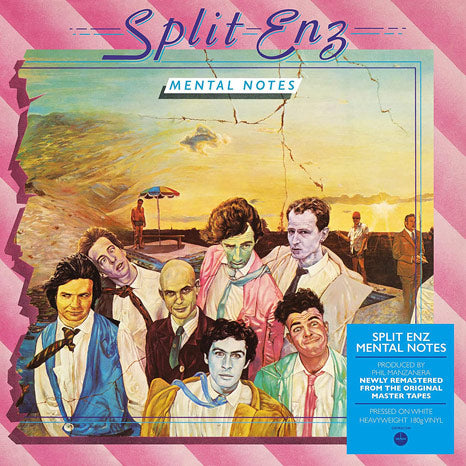 Split Enz / Mental Notes 180g white vinyl LP remastered