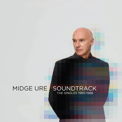 Midge Ure / Soundtrack: The Singles 1980-1988 limited CLEAR vinyl pressing