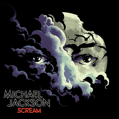 Michael Jackson / Scream 2LP coloured vinyl