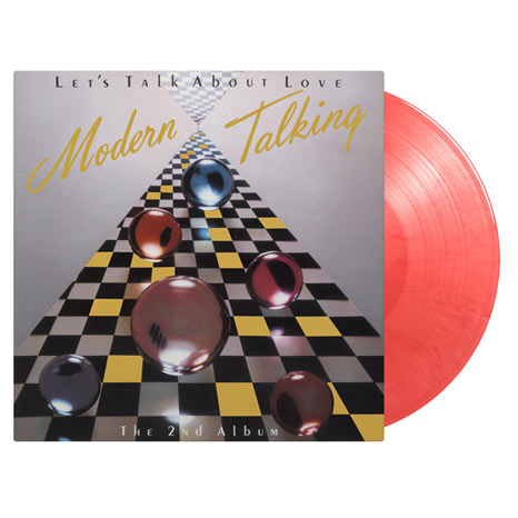Modern Talking / Let's Talk About Love limited edition coloured vinyl LP