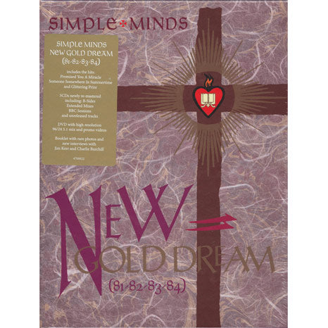 Simple Minds / New Gold Dream 81-82-83-84 box set