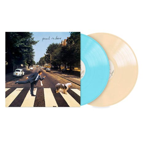 Paul McCartney / Paul is Live limited 2LP coloured vinyl