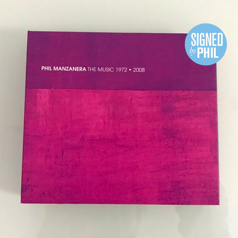 *SIGNED* Phil Manzanera / The Music 1972-2008 / 2CD+DVD set