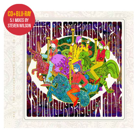 XTC as... Dukes of Stratosphear / Psurroundabout Ride CD+blu-ray