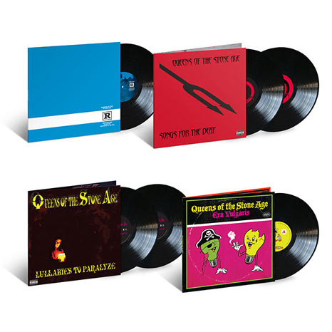 Queens of the Stone Age / 6LP deluxe vinyl reissue bundle