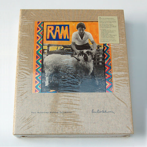 Paul McCartney / RAM 4CD+DVD Super Deluxe Box Set
