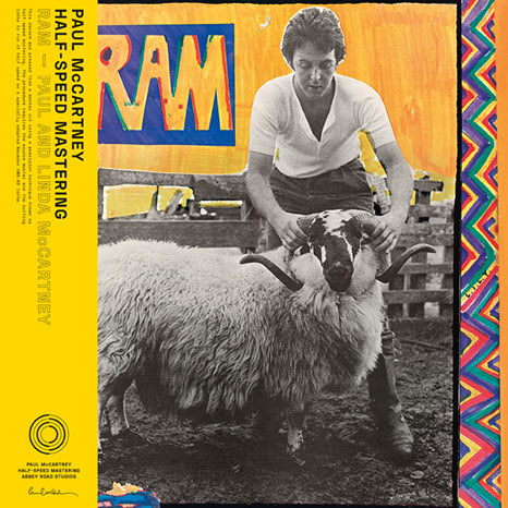 Paul and Linda McCartney / Ram 50th anniversary half-speed mastered vinyl