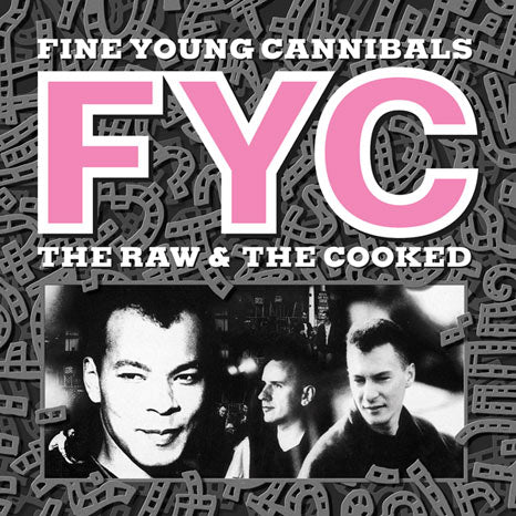 Fine Young Cannibals / The Raw & The Cooked  white vinyl reissue with FREE Johnny Comes Home CD single