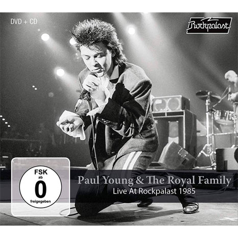 Paul Young & The Royal Family / Live at Rockpalast 1985 CD+DVD combo