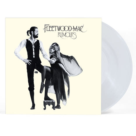 Fleetwood Mac / Rumours limited edition clear vinyl LP
