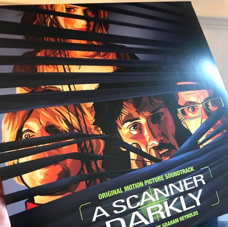 A Scanner Darkly Soundtrack Green Black Marbled Vinyl
