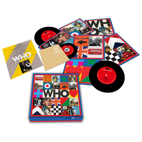 "The Who / WHO limited numbered 7"" box set with Live at Kingston CD"