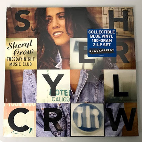 Sheryl Crow / Tuesday Night Music Club / 2LP blue vinyl RSD - USA import