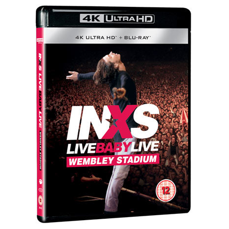 INXS / Live Baby Live: Wembley Stadium 4K Ultra HD blu-ray