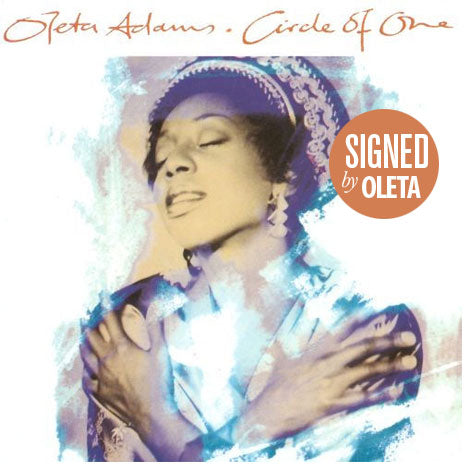 Oleta Adams / Circle of One 2CD Deluxe Exclusive *SIGNED* Edition