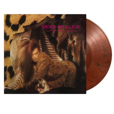 Dead or Alive / Sophisticated Boom Boom:  Limited orange/black vinyl LP