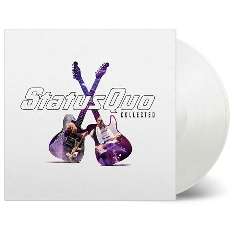Status Quo / Collected limited edition 2LP white vinyl