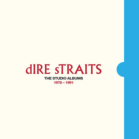 Dire Straits / The Studio Albums 1978 - 1991 8LP vinyl box