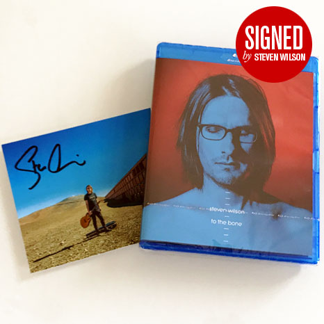 Steven Wilson / To The Bone blu-ray audio / *Limited SIGNED edition*