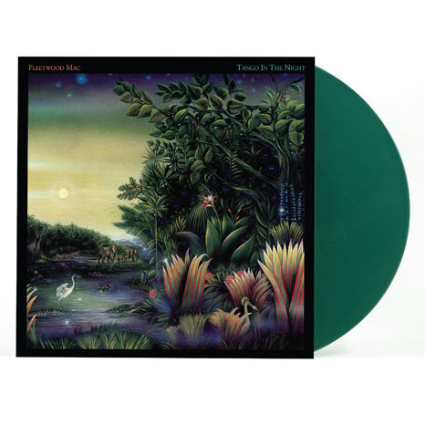 Fleetwood Mac / Tango in the Night limited edition green vinyl LP