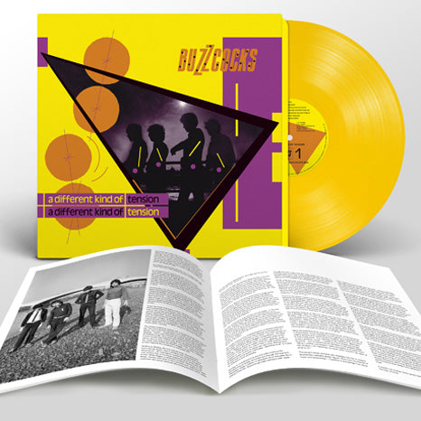 Buzzcocks / A Different Kind of Tension / Limited Deluxe Yellow Vinyl LP