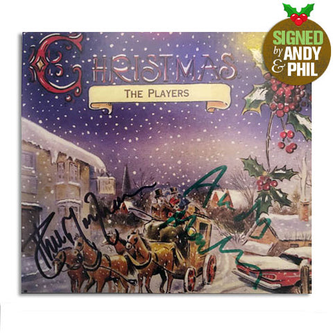 The Players / Christmas CD - signed by Andy MacKay and Phil Manzanera