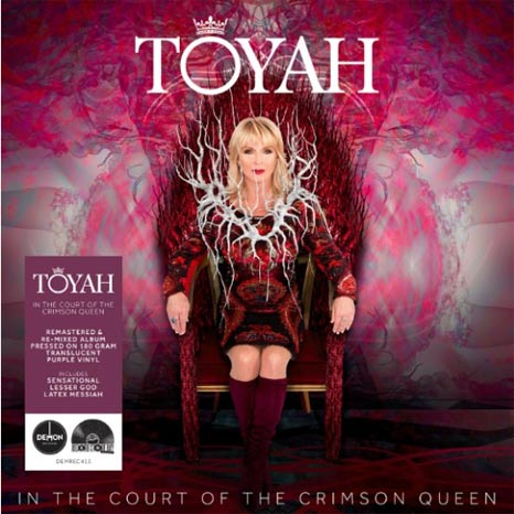 Toyah / In The Court of the Crimson Queen limited edition RSD purple vinyl