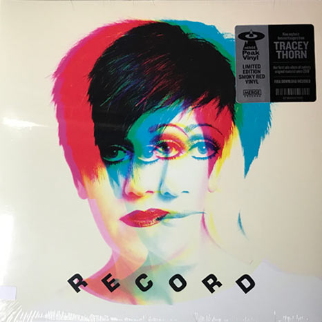 Tracey Thorn / Record limited edition Smoky Red Vinyl