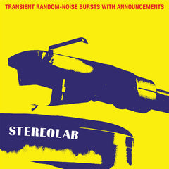 Stereolab / Transient Random Noise-Bursts With Announcements / 3LP 'indies-only' CLEAR vinyl