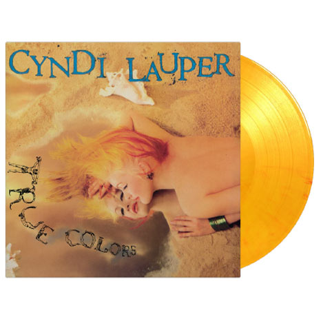 Cyndi Lauper / True Colors limited edition coloured vinyl LP