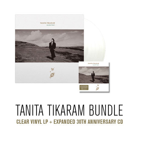 Tanita Tikaram Bundle:  Ancient Heart CLEAR vinyl + 30th anniversary CD