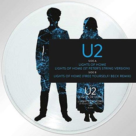 "U2 / Lights of Home RSD 12"" picture disc"