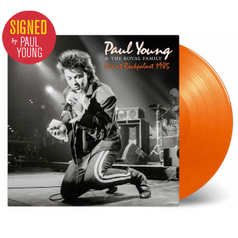 Paul Young & The Royal Family / Live at Rockpalast 1985 *SIGNED* 2LP coloured vinyl