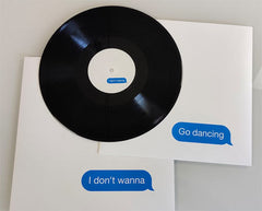 Pet Shop Boys / I Don't Wanna 12-inch vinyl single