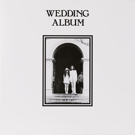 John Lennon & Yoko Ono / Unfinished Music No. 3: Wedding Album / 50th anniversary WHITE vinyl limited edition