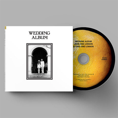 John Lennon & Yoko Ono / Unfinished Music No. 3: Wedding Album / 50th anniversary CD reissue