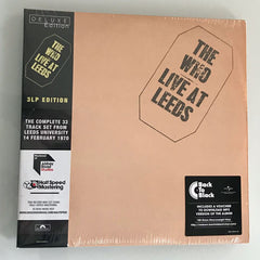 The Who / Live at Leeds 3LP deluxe half-speed mastered vinyl