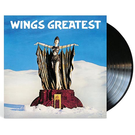 Paul McCartney and Wings / Wings Greatest black vinyl LP