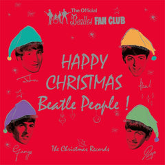 "The Beatles Christmas Records limited edition coloured vinyl 7"" box"