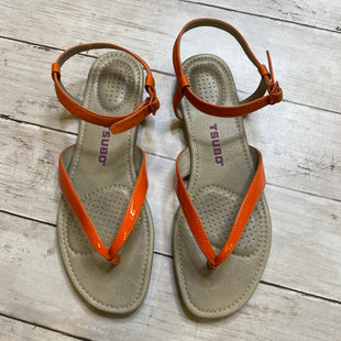 Primary Photo - BRAND:    CLOTHES MENTOR STYLE: SANDALS FLAT COLOR: ORANGE SIZE: 8 OTHER INFO: TSUBO - SKU: 176-176146-678