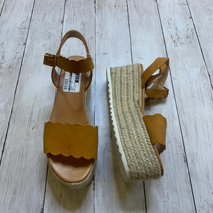 Primary Photo - BRAND:    CLOTHES MENTOR STYLE: SANDALS HIGH COLOR: BROWN SIZE: 7.5 OTHER INFO: AMS - AS IS SKU: 176-176114-38275