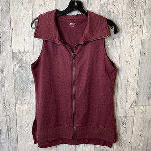 Primary Photo - BRAND: BCG STYLE: ATHLETIC JACKET COLOR: MAROON SIZE: M OTHER INFO: VEST SKU: 176-176122-19007