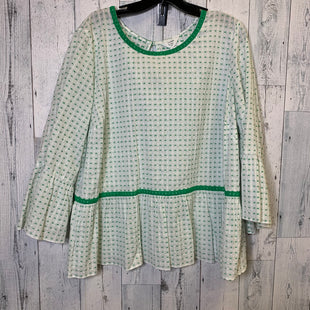 Primary Photo - BRAND: CROWN AND IVY STYLE: TOP LONG SLEEVE COLOR: GREEN SIZE: 2X SKU: 176-17684-47241