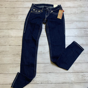 Primary Photo - BRAND: TRUE RELIGION STYLE: JEANS DESIGNER COLOR: DENIM SIZE: 2 OTHER INFO: 25 SKU: 176-17684-47717