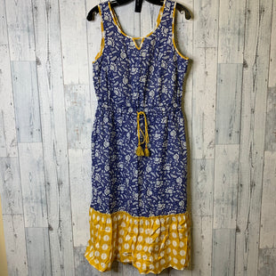 Primary Photo - BRAND: MATILDA JANE STYLE: DRESS SHORT SLEEVELESS COLOR: BLUE YELLOW SIZE: M SKU: 176-176134-4826
