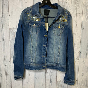 Primary Photo - BRAND: FOREVER 21 STYLE: JACKET OUTDOOR COLOR: DENIM SIZE: L SKU: 176-176124-23906