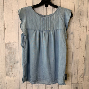 Primary Photo - BRAND: LOFT STYLE: TOP SLEEVELESS COLOR: DENIM SIZE: S SKU: 176-176153-130