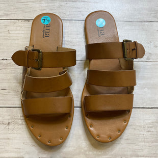 Primary Photo - BRAND: ANA STYLE: SANDALS FLAT COLOR: BROWN SIZE: 7.5 SKU: 176-176134-4224