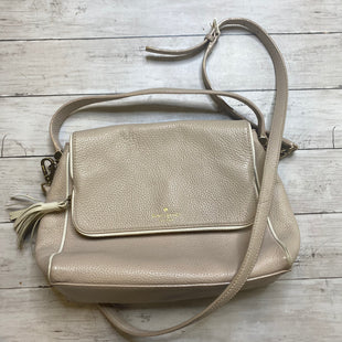 Primary Photo - BRAND: KATE SPADE STYLE: HANDBAG DESIGNER COLOR: CREAM SIZE: MEDIUM SKU: 176-176146-644