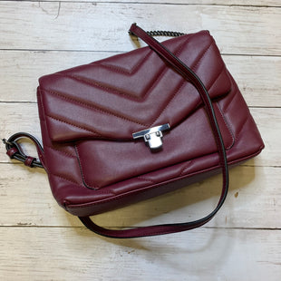 Primary Photo - BRAND: A NEW DAY STYLE: HANDBAG COLOR: BURGUNDY SIZE: SMALL SKU: 176-176124-23715